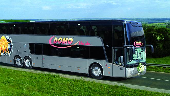 Das Busunternehmen Domo Reisen will ab Dezember die Strecken St. Gallen-Genf, Chur-Bern und Zürich-Lugano bedienen.