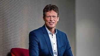 Der neue Siemens-Schweiz-Chef Matthias Rebellius am Firmensitz in Zürich.