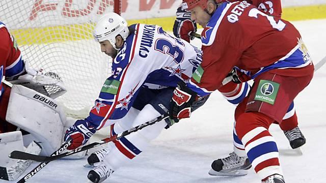 SKA St. Petersburg lädt zu einem KHL-Spiel - in Davos