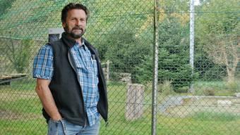 Bruno Gardelli möchte die Storchen- und Wildvogelpflegestation in Möhlin modernisieren.