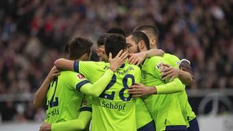 Schalke kann doch noch gewinnen; in Stuttgart siegen die Königsblauen zum Abschluss der Vorrunde 3:1