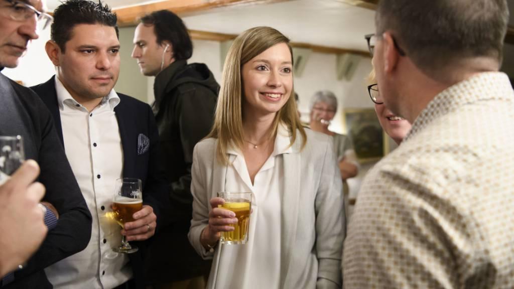 Frischgebackene Ständerätin: Die Freisinnige Johanna Gapany hat den bisherigen CVP-Ständerat Beat Vonlanthen aus dem Amt geworfen.