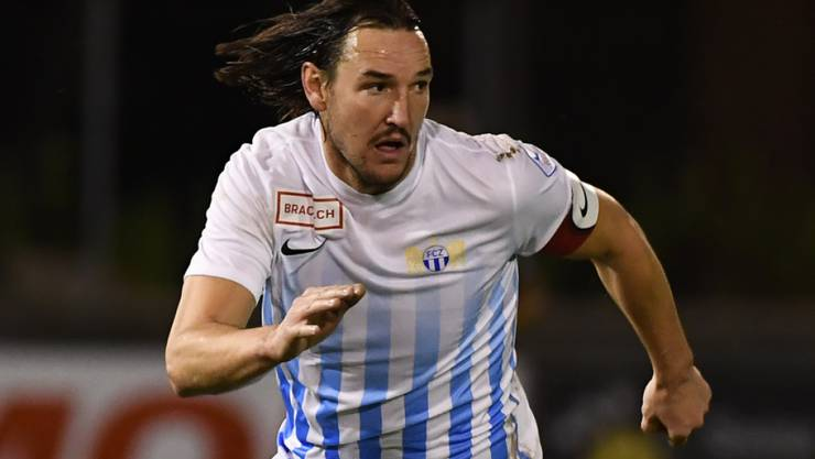 Captain Alain Nef steigt mit dem FCZ in die Super League auf