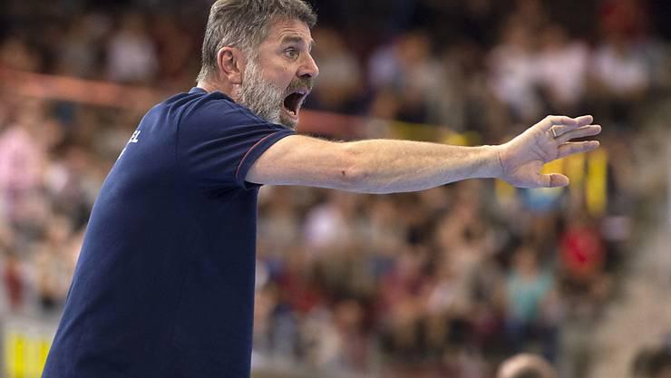 Thuns Trainer Martin Rubin ist in der Champions League gefordert