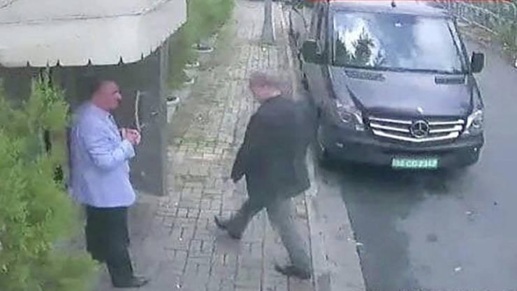 Der Mord am saudischen Regierungskritiker Jamal Khashoggi im Oktober 2018 in Istanbul hat Folgen: Fünf Menschen wurden in Riad zum Tode verurteilt. (Archivbild)