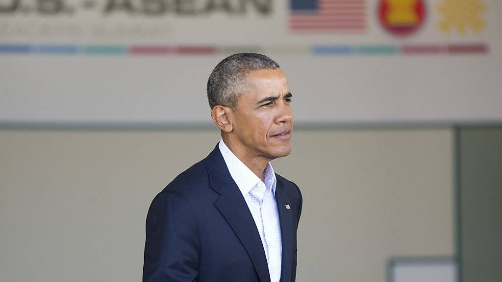 US-Präsident Barack Obama empfängt erstmals die Vertreter der ASEAN-Staaten in Rancho Mirage.