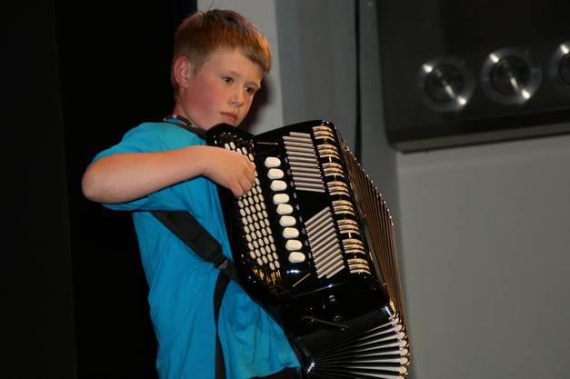 Solist aus dem Jugendorchester