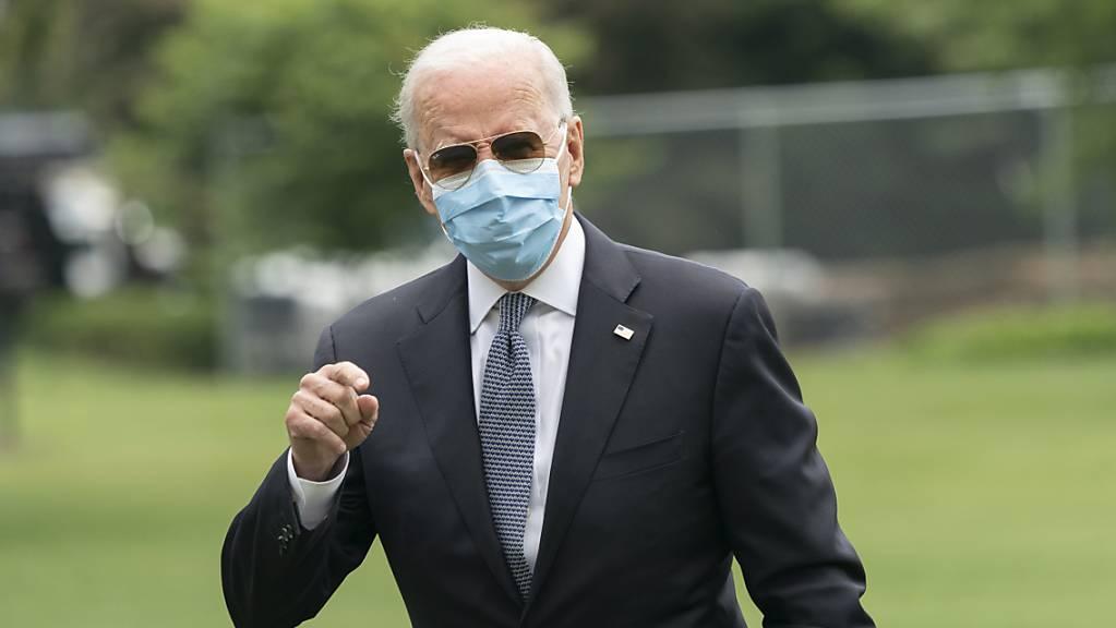 Der amerikanische Präsident Joe Biden hat sein Impfziel um knapp einen Monat verpasst. (Archivbild)