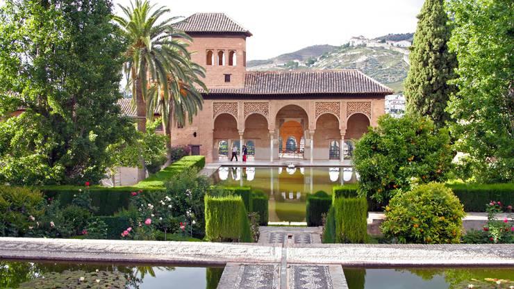 Alhambra bei Granada, Spanien