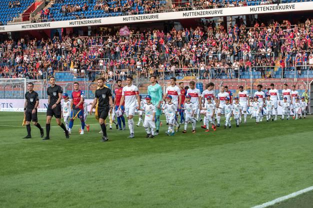 Jubiläumsspiel gegen den VFB Stuttgart
