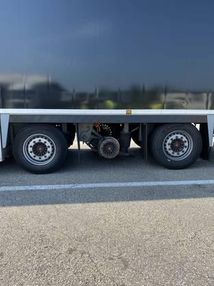 Grenzübergang Basel-St. Louis BS, 21. September: Die Polizei zog ein Sattelmotorfahrzeug wegen Mängel aus dem Verkehr.