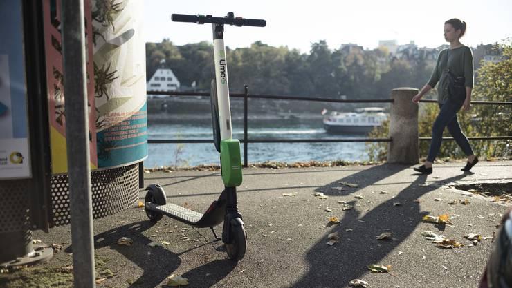 Basel bekommt wieder 200 Lime-Trottis. (Archiv)
