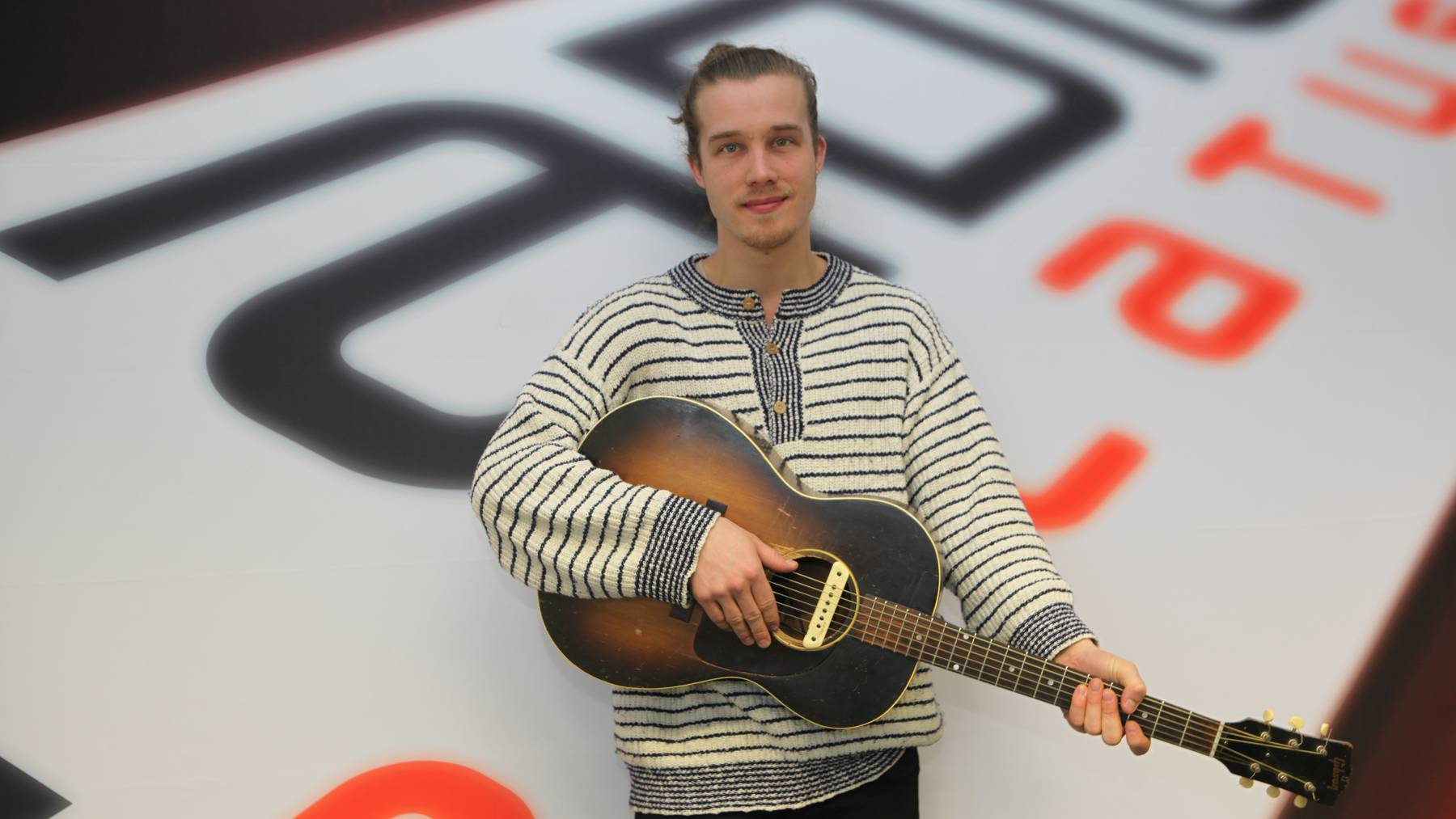 Andreas Moe der Newcomer am Musikhimmel