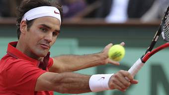 Roger Federer musste gegen Gael Monfils nur über drei Sätze