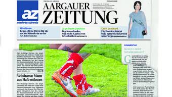 Die neue «Aargauer Zeitung» kommt.