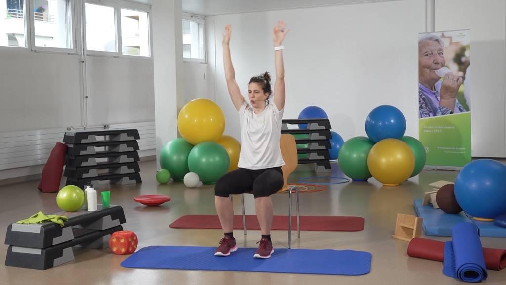 «Gymnastik im Wohnzimmer» vom 4. Mai 2021