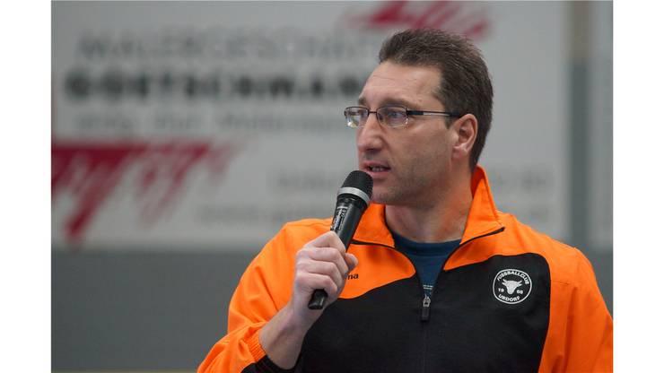Marc Dreifuss Turnierchef seit 2013, bei der Siegerehrung: «Ihr habt alle herrlichen Fussball geboten und dürft auf eure Leistung stolz sein.»