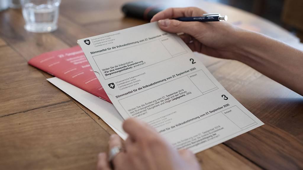 Überdurchschnittlich hohe Stimmbeteiligung in St.Gallen erwartet