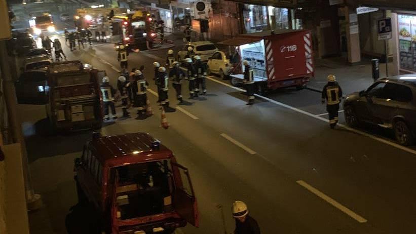 33 Personen in der Nacht evakuiert