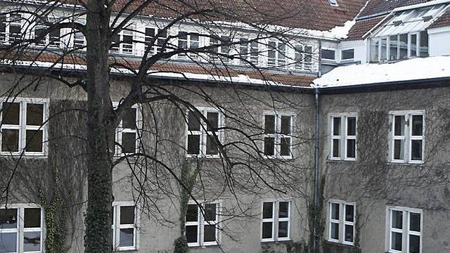 Blick in den Innenhof des Canisius-Kollegs (Archiv)
