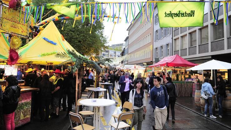 Soll auch dieses Jahr wieder viele Leute anlocken: das Klosterbergfest.