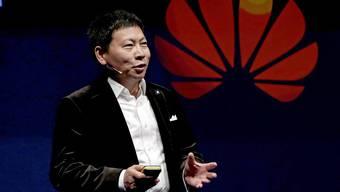 Huawei-Ceo Richard Yu: Seine Firma liefert Swisscom und Sunrise Netzwerke und plant Forschungszentren in Zürich und Lausanne.