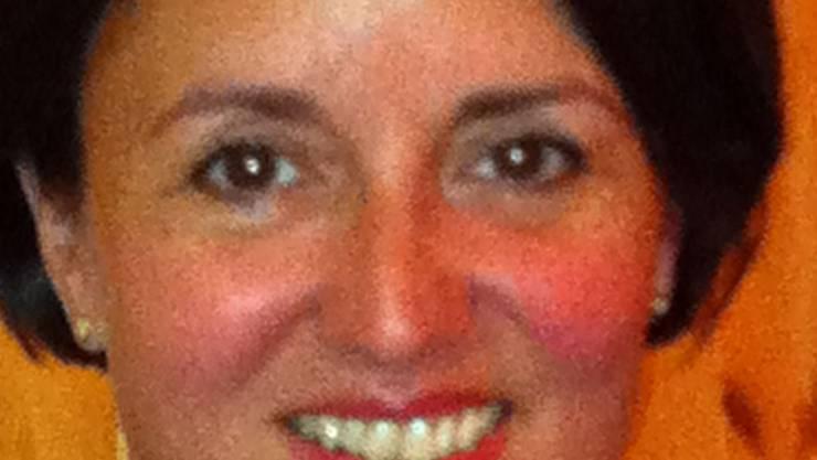 Yvonne Amstutz tritt zurück. ZVG