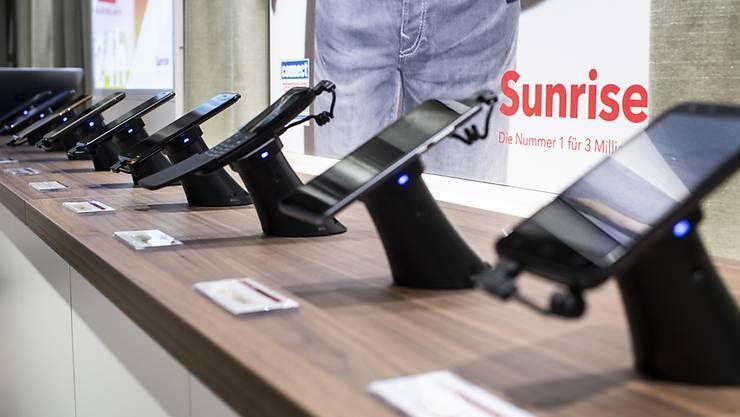 Sunrise und weitere Telekom-Anbieter erhöhen während der Krisenzeiten die Surfgeschwindigkeit für ihre Abonnenten. (Archivbild)