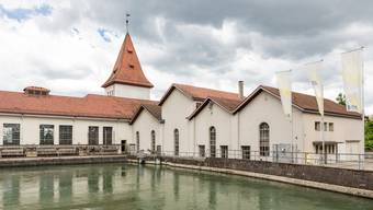 Das Wasserkraftwerk der Eniwa (vormals IBAarau) in Aarau.