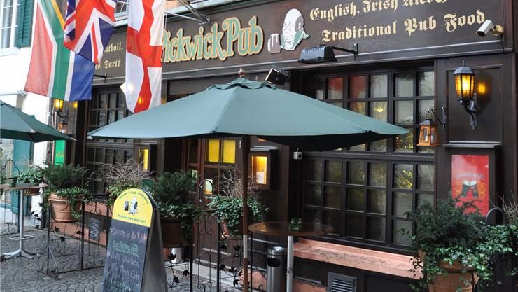 Pickwick-Pub in Baden: Nichts zeugt mehr von der Schlägerei