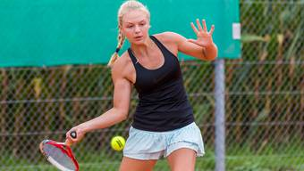 Sina Schwaiger (TC Entfelden) ist bei den U16-Damen die Favoritin.