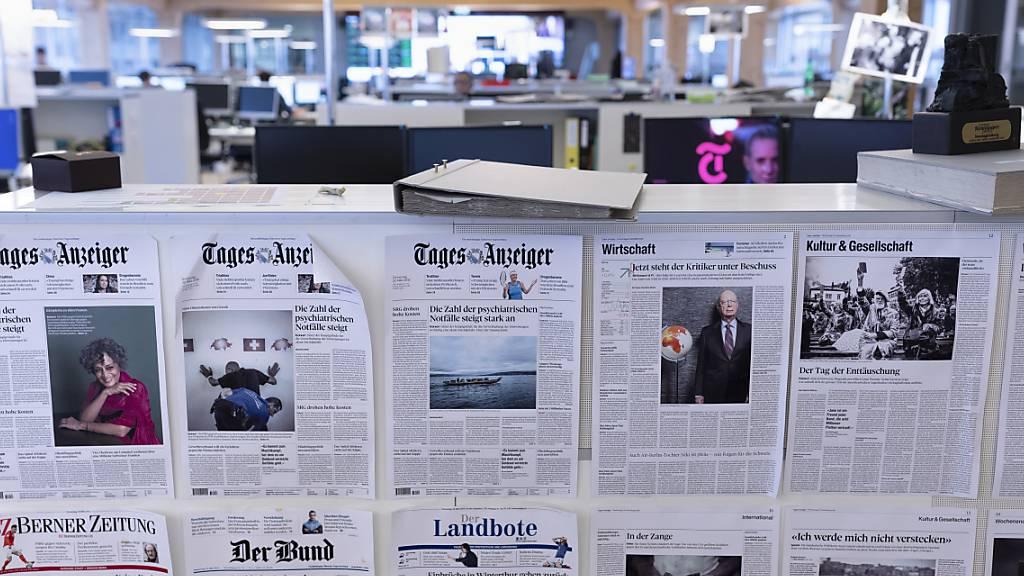 Die Blätter des Medienhauses. (Archivbild)