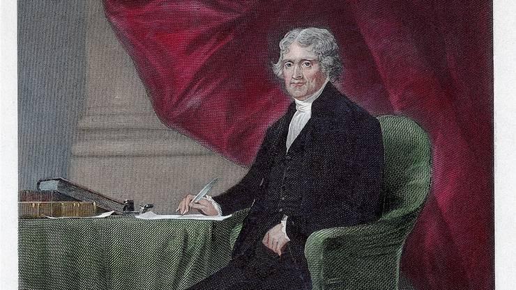 Prototyp der Intellektuellen: Thomas Jefferson, der dritte US-Präsident, verfasste nebst der Unabhängigkeitserklärung auch zahlreiche Bücher.