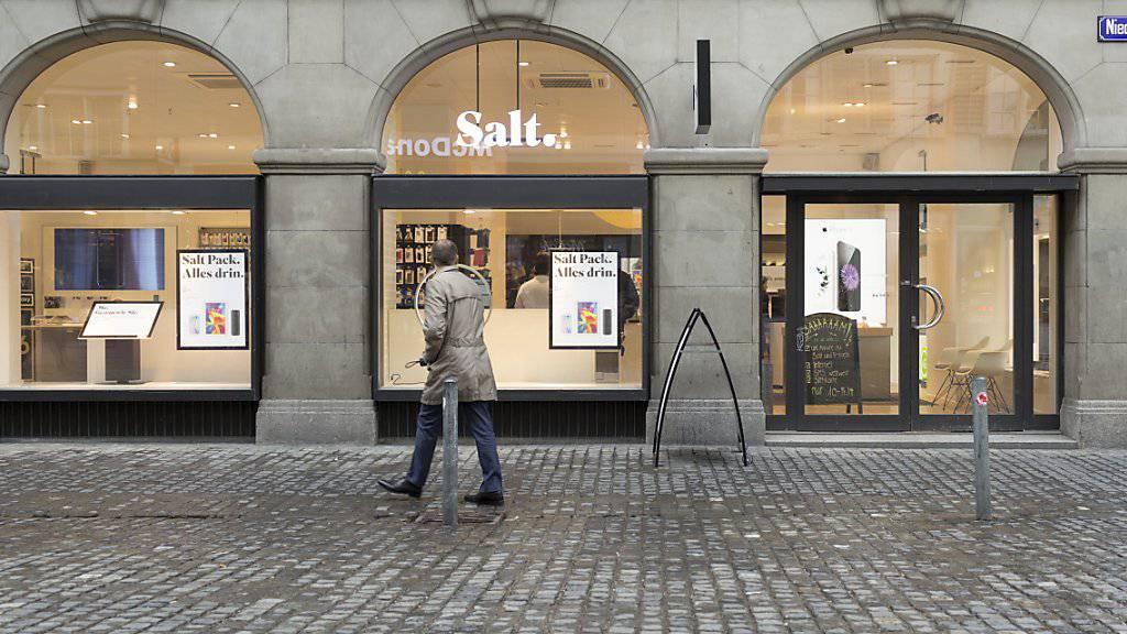 Die Zeiten der harten Einschnitte bei Salt sind vorbei: Der neue Chef Pascal Grieder will wieder auf den Wachstumskurs einschwenken. (Archiv)