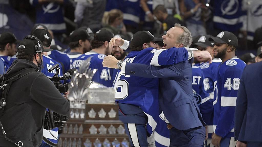 Auch in diesem Jahr ging der NHL-Titel an die Tampa Bay Lightning