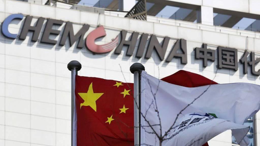 Der Sitz von ChemChina in Peking: Der Chemiegigant kündigte im Februar für eine Rekordsumme den Kauf des Basler Agrochemiekonzerns Syngenta an.