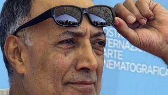 Abbas Kiarostami 2008 bei den Internationalen Filmfestspielen von Venedig. (Archiv)