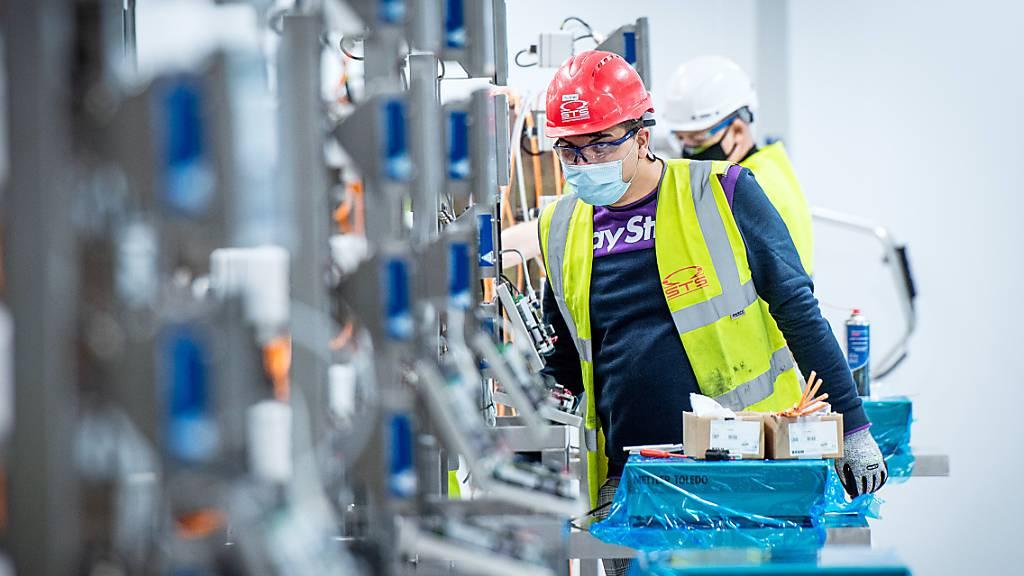 OECD erwartet für Schweiz mildere Rezession und schwächere Erholung