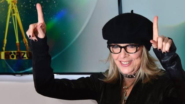 US-Schauspielerin Diane Keaton in Berlin (Archiv)