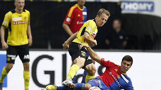 Christoph Spycher im Spiel gegen Basel