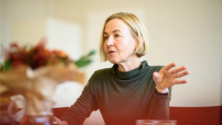Die Oltner SP-Politikerin Susanne Schaffner ist seit 2017 Regierungsrätin.