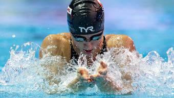 Lisa Mamié schwamm im WM-Vorlauf über 100 m Brust Schweizer Rekord