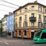 Das 8er-Tram auf der Klybeckstrasse. (Symbolbild)