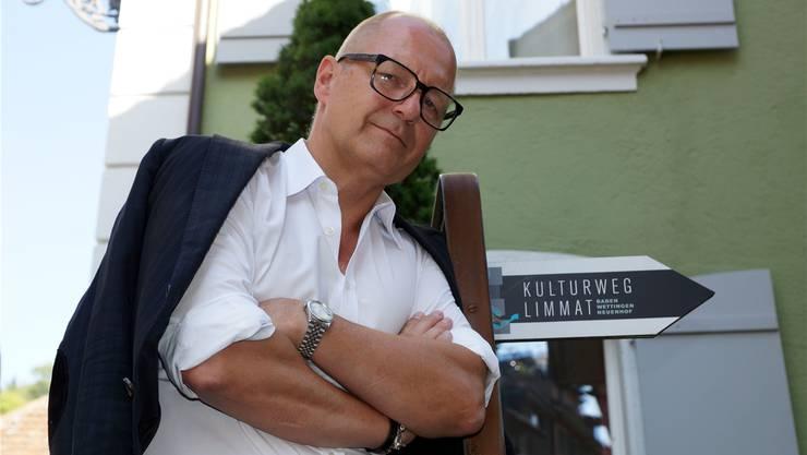 Christoph Doswald will den Kulturweg mit dem Bäderquartier verbinden. Ursula Burgherr