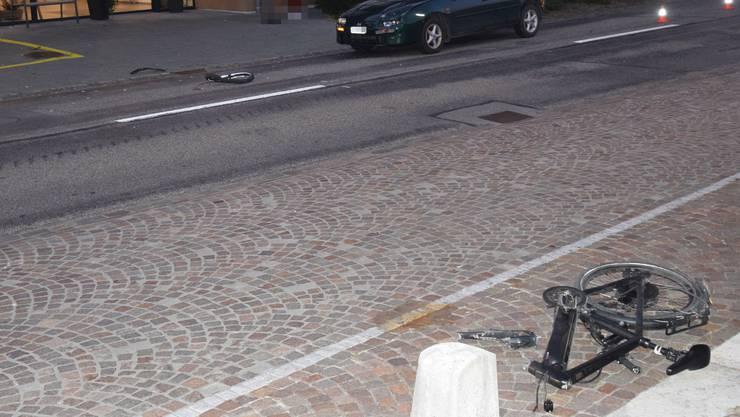 Der E-Bike-Unfall ereignete sich am frühen Mittwochmorgen in Schnottwil
