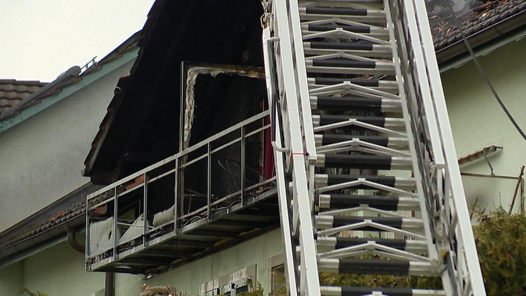 Schwerzenbach (ZH): Über 100'000 Franken Sachschaden bei Dachstockbrand