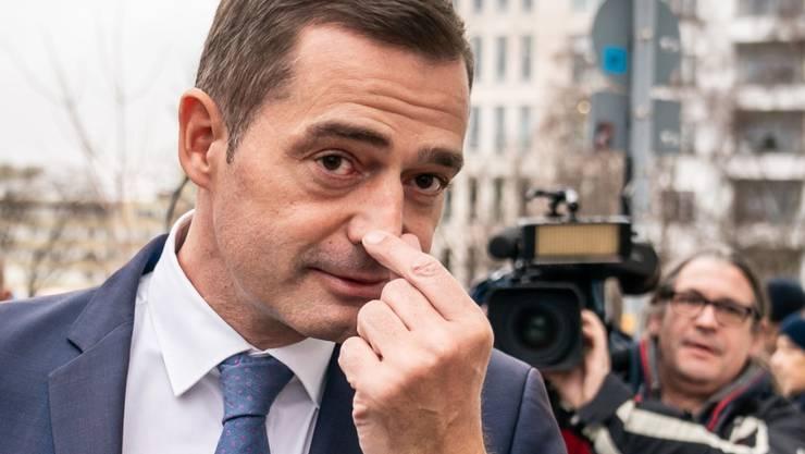 Mike Mohring, Landesvorsitzender der CDU in Thüringen, gibt sein Amt ab.