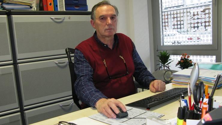 Will sich nicht gegen die Unia ausspielen lassen: Syna-Gewerkschafter Zabedin Iseini.