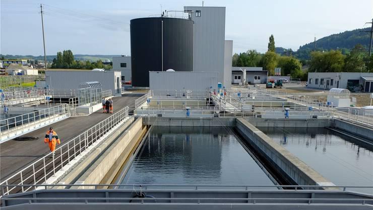 Die neue ARA hat Kapazität, um die Abwässer von rund 55000 Einwohnern zu klären. Rahel Plüss