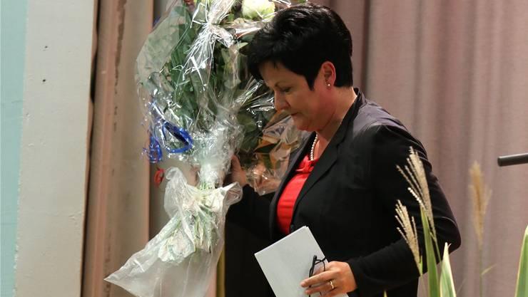 Tritt von der Bühne des Ständeratswahlkampfs 2015 ab: FDP-Kandidatin Marianne Meister verzichtet auf den 2. Wahlgang.